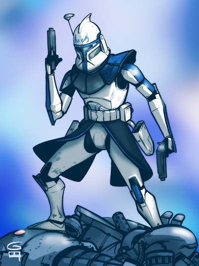Captain Rex Wallpaper Starwars